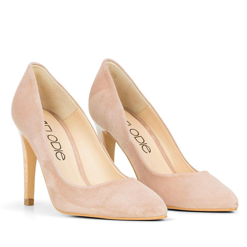Zapatos beige Tacón cuadrado Elodie Shoes para mujer  36 L'ARTIGIANO DEL CUOIO Sandalias de dedo hombre Zapatos casual Pikolinos Oviedo para hombre OfVnOt