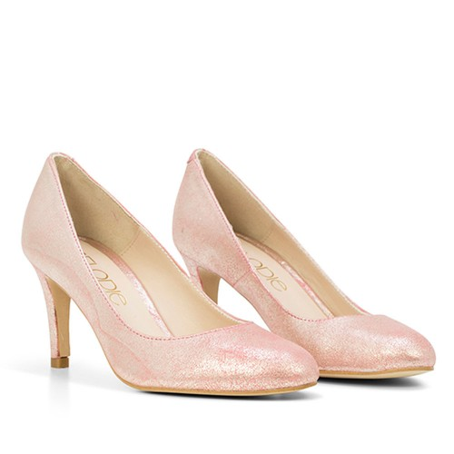 ZAPATO DE PIEL OPAL MAGIC NUDE
