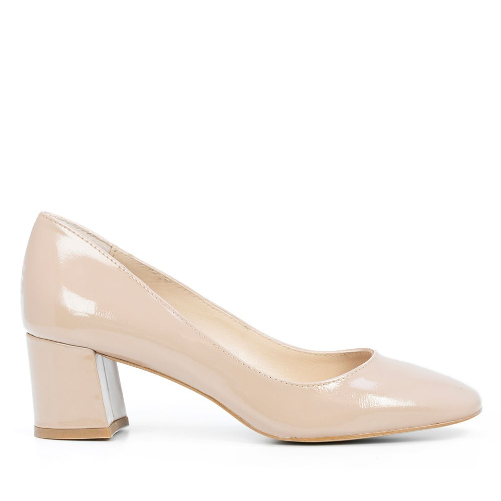 ZAPATO DE MUJER REIS CHAROL NUDE ELODIE