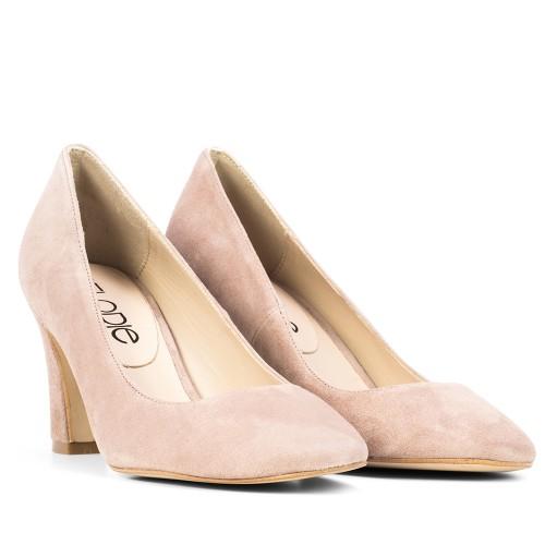 Zapato de Mujer Beig Reva Piel Charol a0ca7647e6ca
