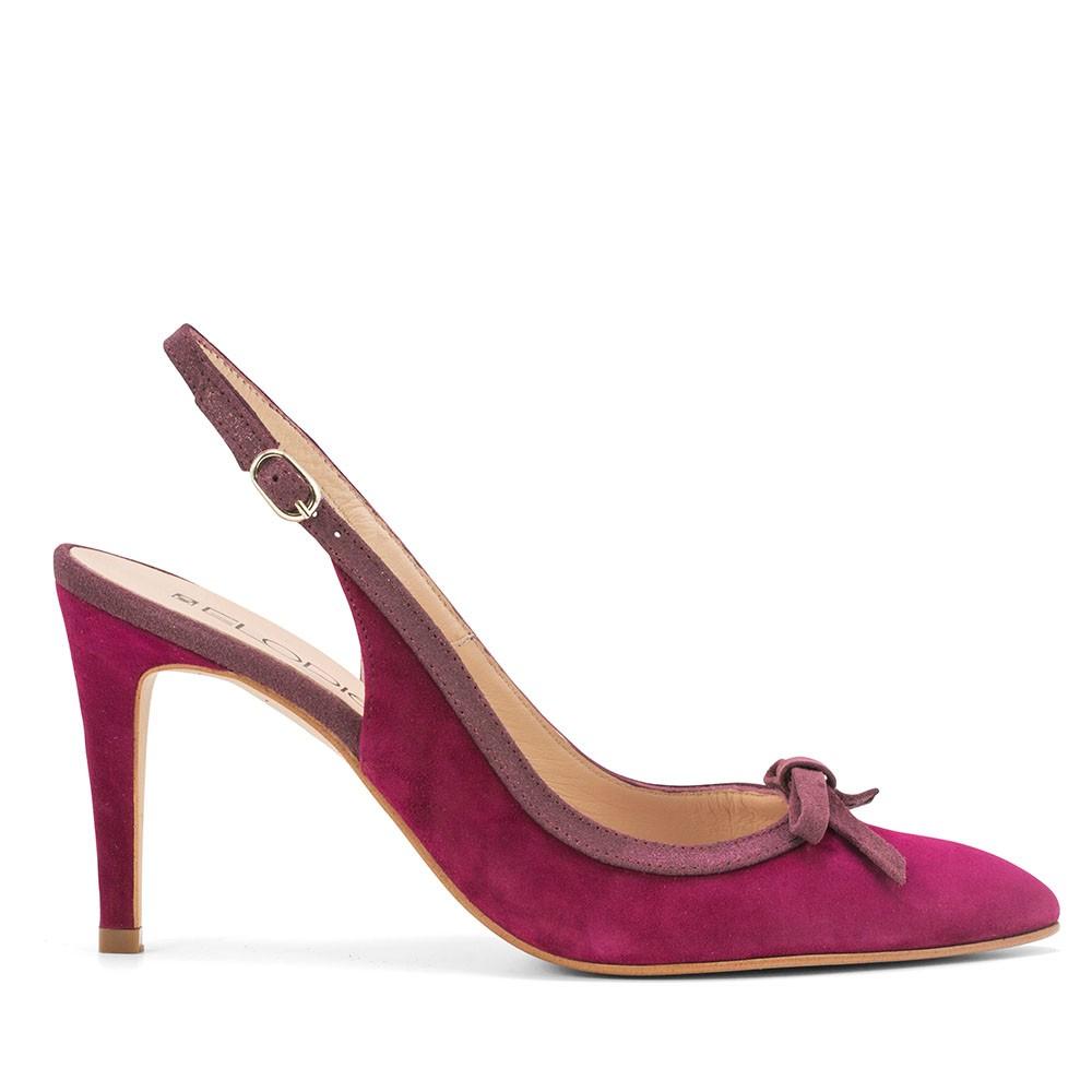 39 EU Zapatos burdeos Tacón cuadrado de punta redonda Elodie Shoes para mujer  40 EU  38 EU Hummel Deuce Court Tonal X6zXf